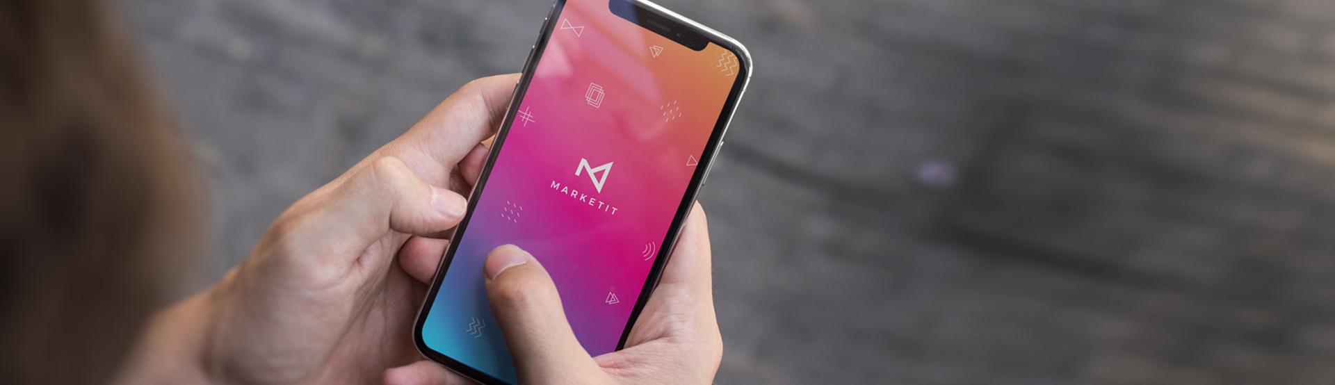 인플루언서 마케팅 플랫폼 마켓잇의 앱사용이미지